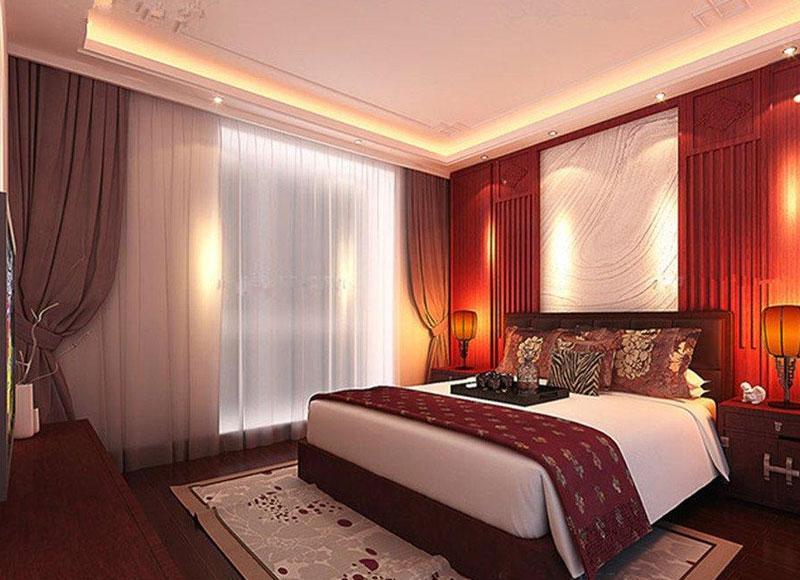 新中式婚房装修设计