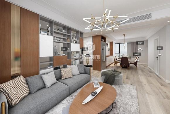 御沁园120平现代简约公寓